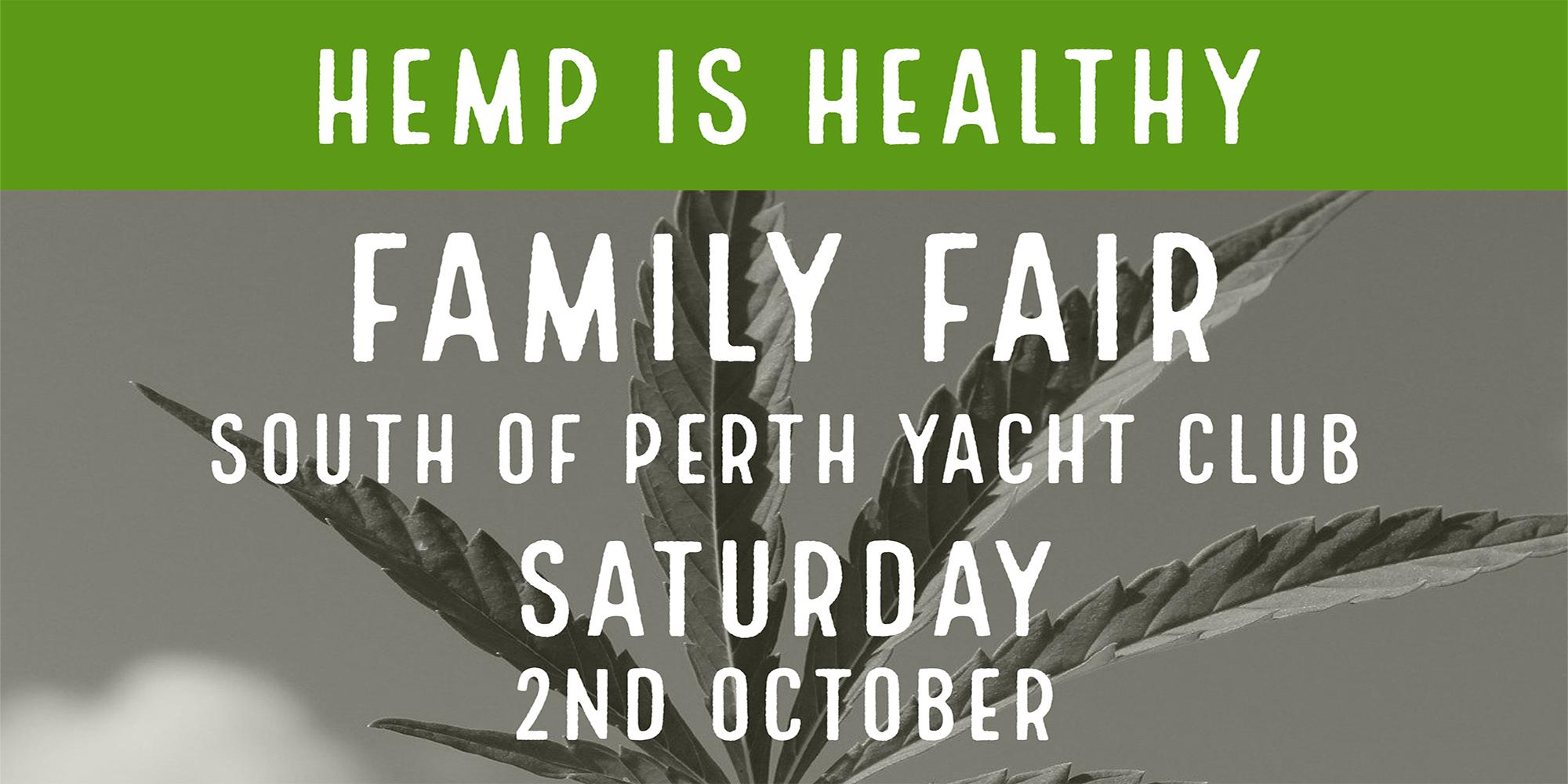Hemp is Healthy Family Fair